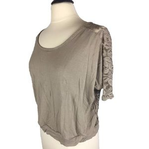 EUC Express Sz Medium Top Lace cutout Back